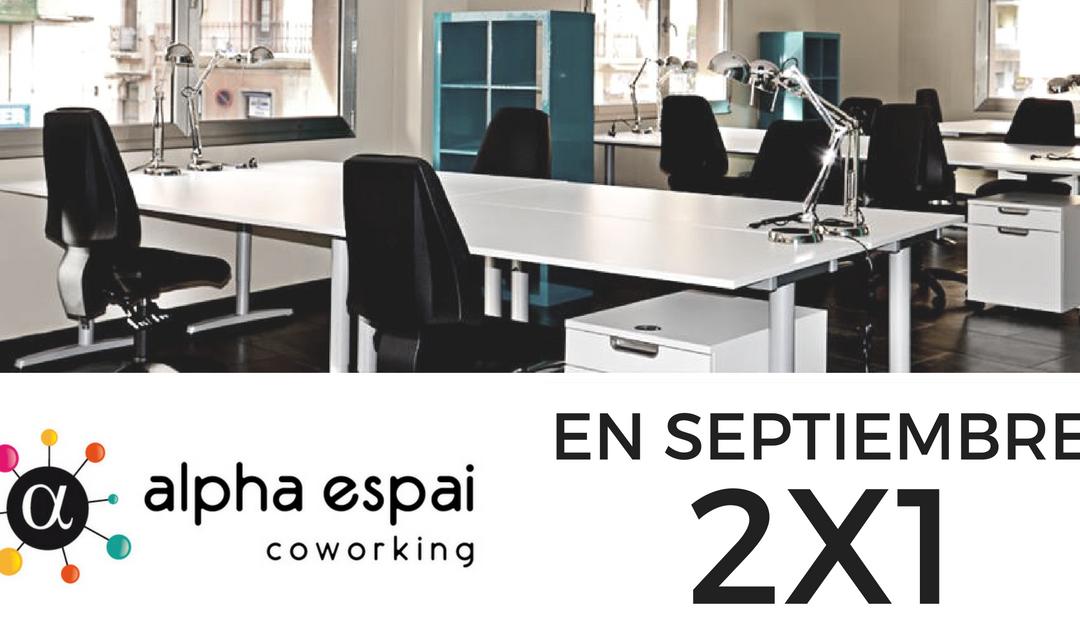 En Septiembre, tiempo de #coworking