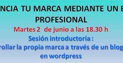 Tu marca mediante un blog profesional   02/06/2015 18:30